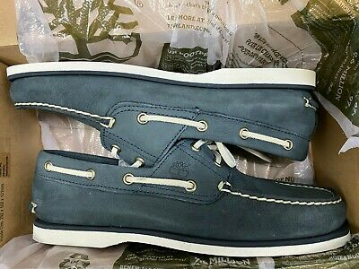 Mens Timberland Classic Boat Dark Grey Boat Shoes Size UK8 EU42