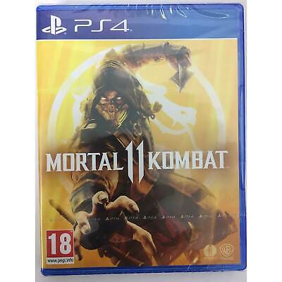 Mortal Kombat 11 PS4 PLAYSTATION New and Sealed