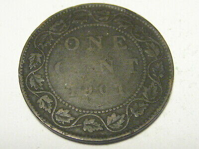 1901 Canadian Large Cent