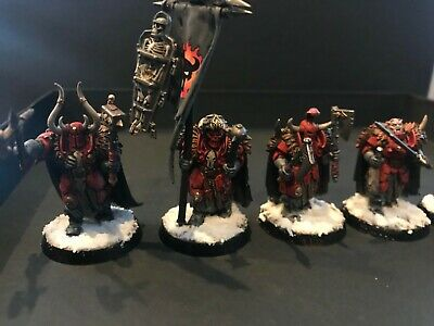 Chaos Slaves To Darkness Warriors AoS Warhammer Oldhammer Khorne