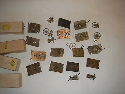 PLATFORM ESCAPEMENTS JOB LOT CLOCK For spares or repair Vintage