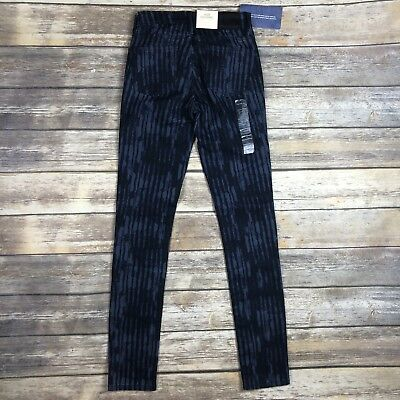 Calvin Klein Jeans CK Women's Sz 0 Ultimate Skinny Blue Dawn Leggings Jeans NEW