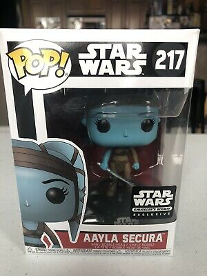 Funko POP! Star Wars New Aayla Secura Smuggler's Bounty Exclusive