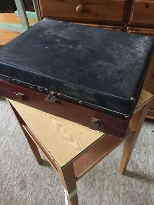 Vintage 2 Compartment Craft Box With Lots Of Bits & Pieces Tools  4/2/Z