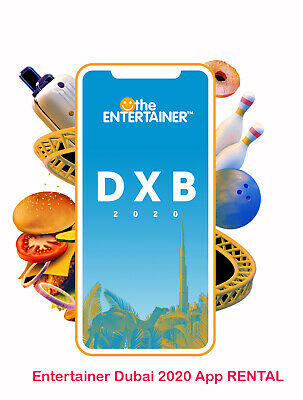 Entertainer Dubai 2020 App 7-DAY Rental