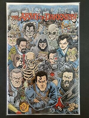 Death to Army of Darkness #1 Haeser FOC Variant Dynamite NM Comics Book