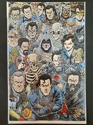 Death to Army of Darkness #1 1:15 Haeser Virgin Variant Dynamite NM Comics Book