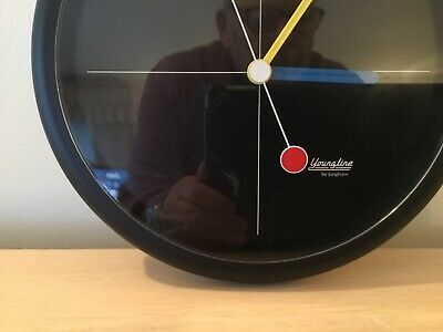 """Novelty Wall Clock  Working With New Battery & Spare 8""""Diameter By Junghans"""