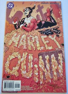 Harley Quinn 15 (2/02) NM! Cover/Art Terry and Rachel Dodson! Solo! DC Comics!