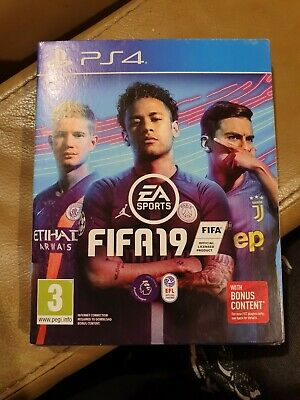 FIFA 19 - Standard Edition (Sony PlayStation 4, 2018) NEW - SEALED.