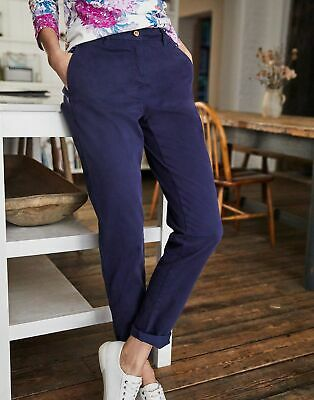 Joules Womens Hesford Chinos - FRENCH NAVY Size 6