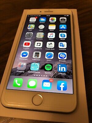 Apple iPhone 8 Plus 64GB (Unlocked) Silver Used Excellent Condition Boxed
