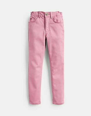 Joules Girls Linnet Denim Jeans  - CHERRY BLOSSOM Size 11yr-12yr
