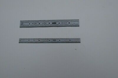 2 used General Tools  Precision Rules 6 in. L Stainless Steel