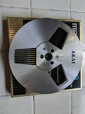 Vintage Akai R-7M Metal Aluminum 7 Inch Take Up Reel Reel-to-Reel