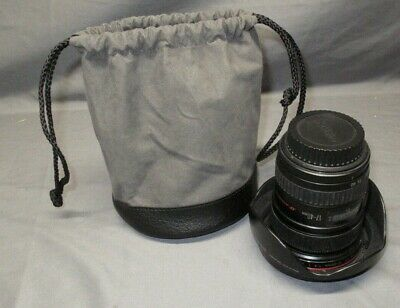 Canon Ultrasonic EF 17-40 mm f/4 L USM Lens w/ Hood and Bag