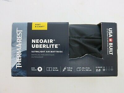 Therm-a-Rest NeoAir Uberlite Sleeping Pad, Brand New, Size Regular