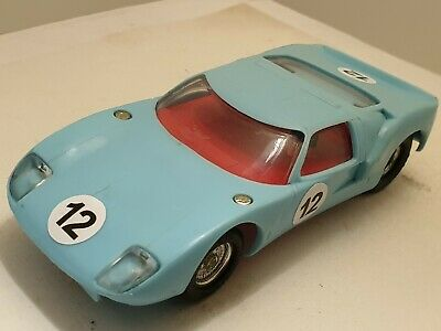 SCALEXTRIC VINTAGE  1960s FORD GT40