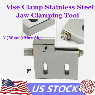 4 Jaw Wire Cut EDM Vise High Precision HRC 55 Toolmaker Stainless Steel Hardened Grinding Milling 100mm Jaw Opening US Warehouse