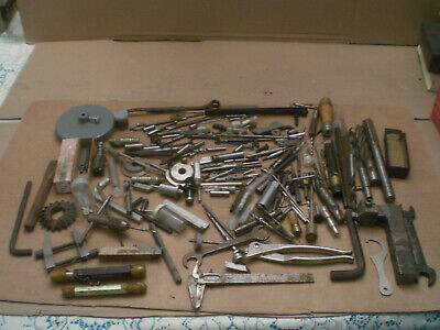 Mixed Machinist lot from tool box clean out   lot 4