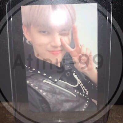 ATEEZ TREASURE EP EPILOGUE Action To Answer Z VER WOOYOUNG MMT Photocard Photo