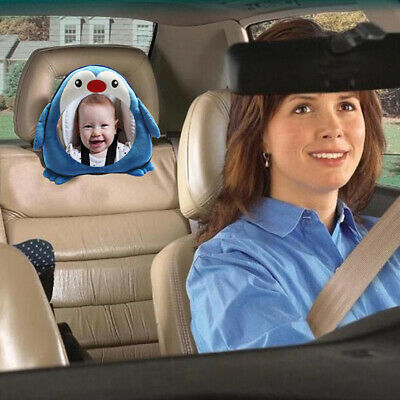 US Cartoon Car Seat Rear Facing Mirror For Take care of Baby Shatterproof Infant