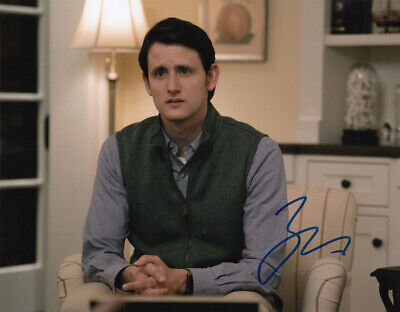 Zach Woods signed Silicon Valley 10x8 photo AFTAL & UACC [16637] Signing Details