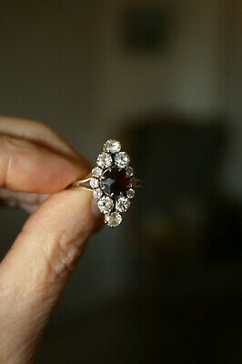 Bague Ancienne Marquise