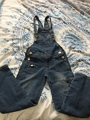 Boys Demin Dungarees 8 Years Great Cond