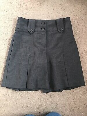 Girls 8 Years School Grey Skirt Shorts From Matalan In Great Condition