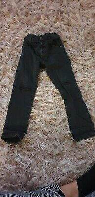 Next Black Ripped Jeans SKINNY Age 2-3 Years.