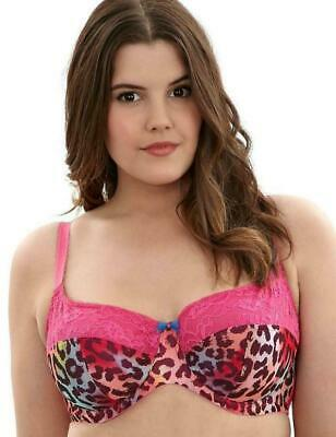 Reduced..Sculptresse by Panache Kitty 8045 Hot Red Full Cup Bra Sizes 34-44 D-FF