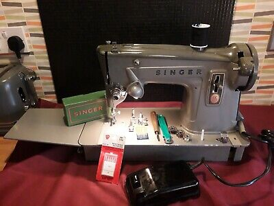 Vintage Singer 329k '60s Sewing Machine With Case & Extension, ACCESSORIES
