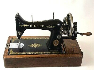 Vintage Singer 99K Hand Crank Sewing Machine c1918 | Near PRISTINE !!!  [5893]