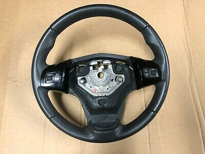 Vauxhall Corsa D 2006-2014 #51 Multi-Functional Leather Steering Wheel Sxi Sri