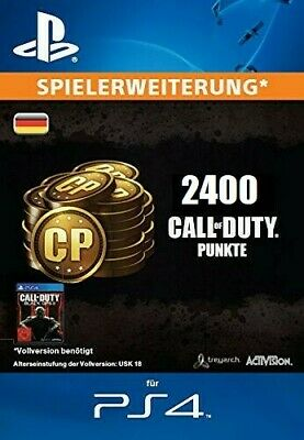 PS4 - 2400 CP Call of Duty Points - Black Ops 3 und alle COD Teile