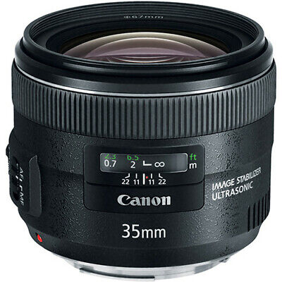 Canon EF 35 mm f/2.0 IS USM Wide Angle Lens