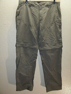"""THE NORTH FACE Mens 36""""W 32""""L Nylon Travel/Hiking Pants Combine ship Discount"""