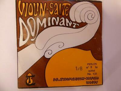 Dominant Violin String Thomastik-Infeld. A 2nd String Medium Gauge 2 Sizes