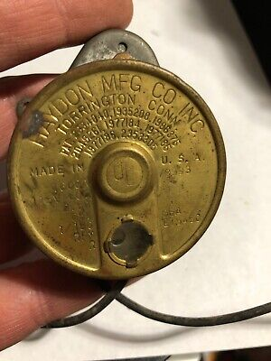 Antique Haydon 1/180 RPM Electric MOTOR 2.5w 115v CLOCK