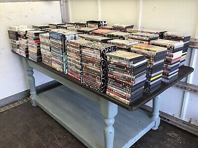 Massive Joblot 750 Dvd's Great For Re Sale , Carboot Etc.....