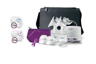 Philps Avent Double Electric Breast Pump - New! SCF334/16