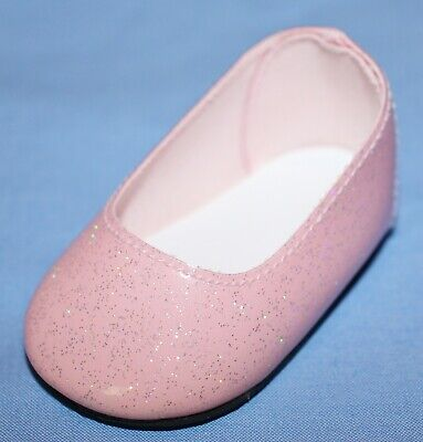 American Girl Doll PINK LEFT SHOE ONLY from Petal Pink Outfit 2001 Ballet Flat