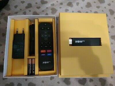Now Tv Smart Stick - Chiavetta App: Dazn Netflix Youtube Vimeo - Senza Ticket