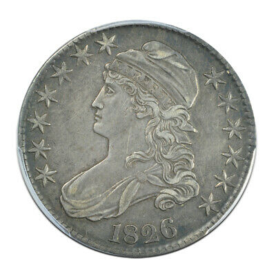 1826 50C Capped Bust Half Dollar PCGS XF40