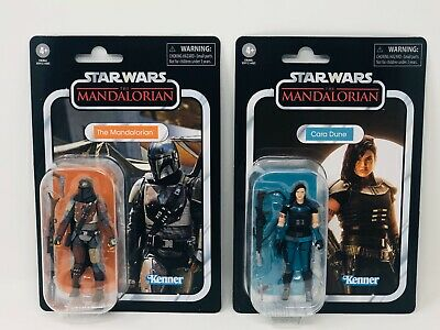 Star Wars The Vintage Collection The Mandalorian Figures Lot Of 2 IN HAND