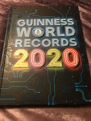 New Guinness World Records 2020 Hard Back Book