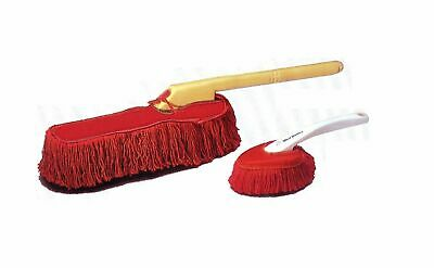 California Car Duster Wooden Handle with Dash Duster Kit