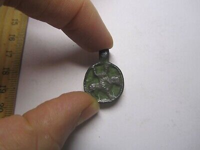 The ancient rider. Archaeology & Antiques.Medieval pendant