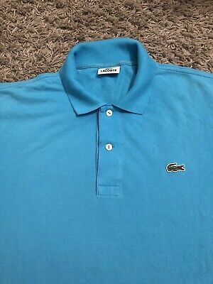 Mens Lacoste Polo Shirt Size 5 Large